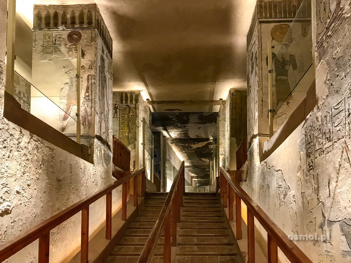 Korytarz w grobowcu Ramzesa III
