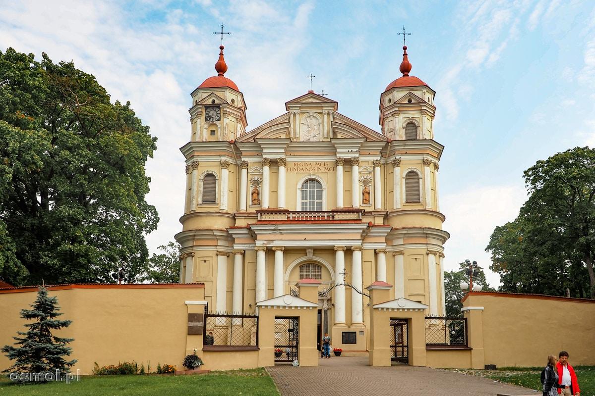 Budynek kościoła św. Piotra i Pawła W Wilnie