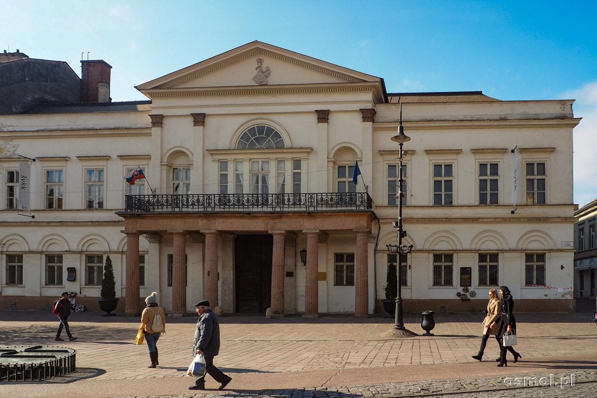 Biblioteka w Koszycach