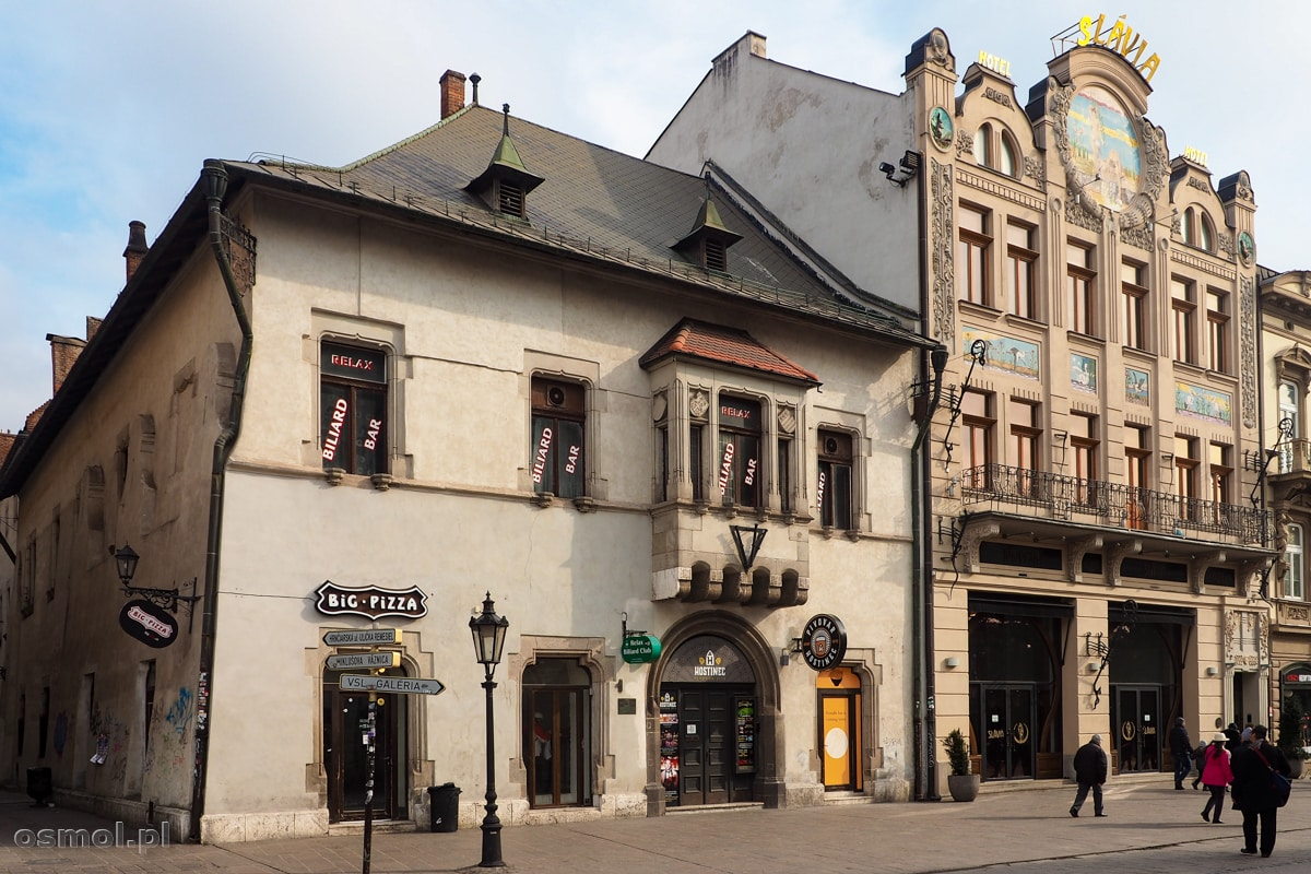 Dom Lewocki w Koszycach - dziś siedziba browaru Hostinec