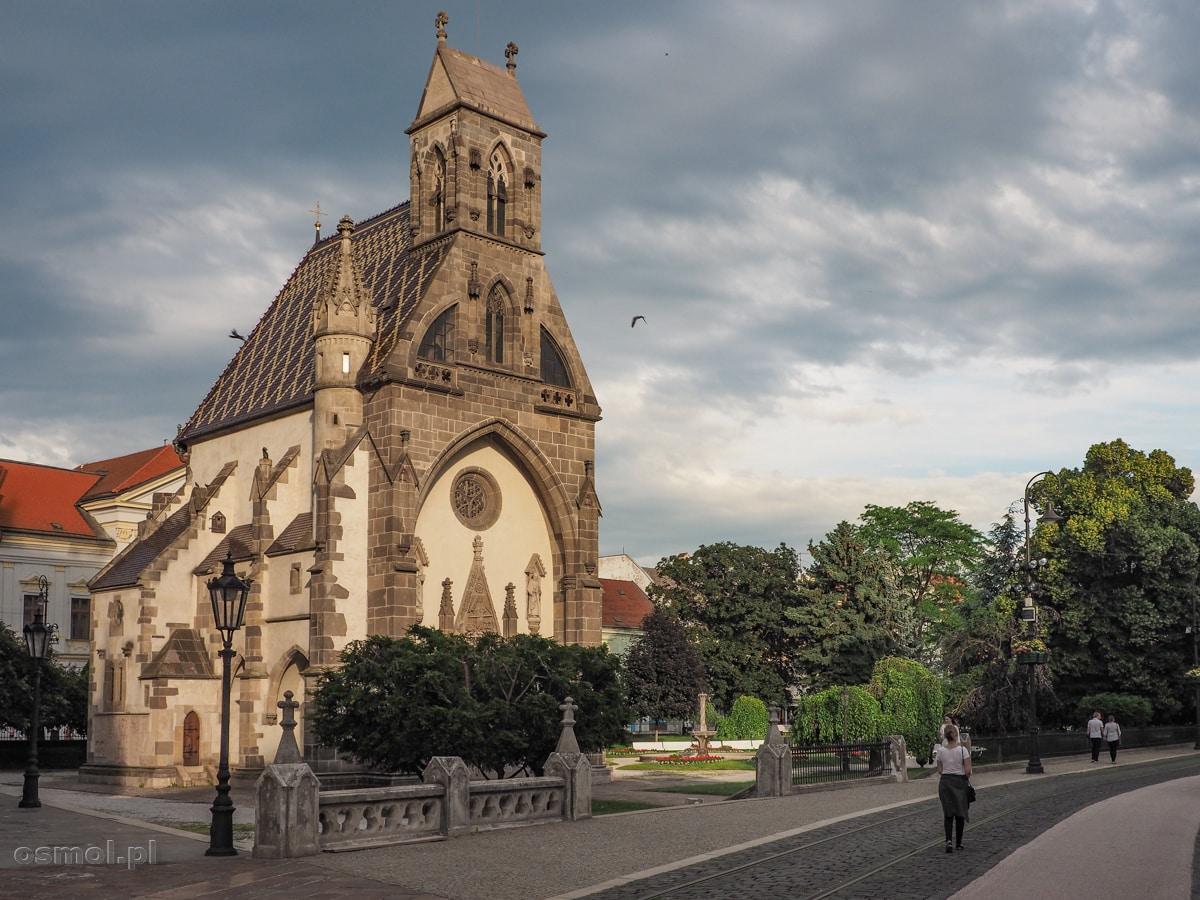 Kaplica św. Michała w Koszycach stoi dosłownie na kościach.