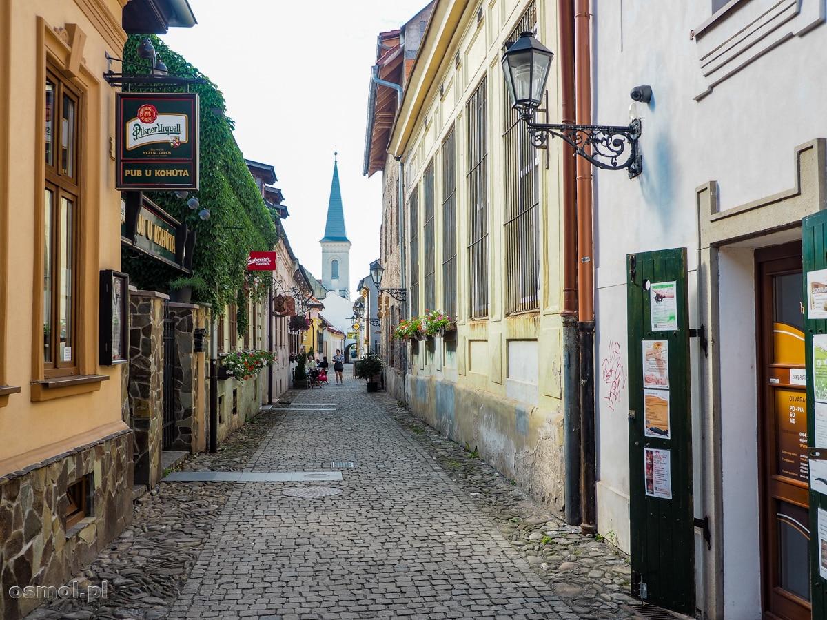 Ulica Hrnčiarska w Koszycach