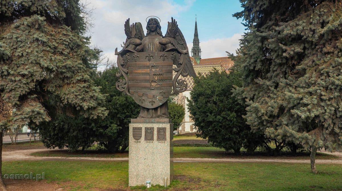 Herb Koszyc - pod teraźniejszym herbem daty, w których ulegał on znaczącym zmianom