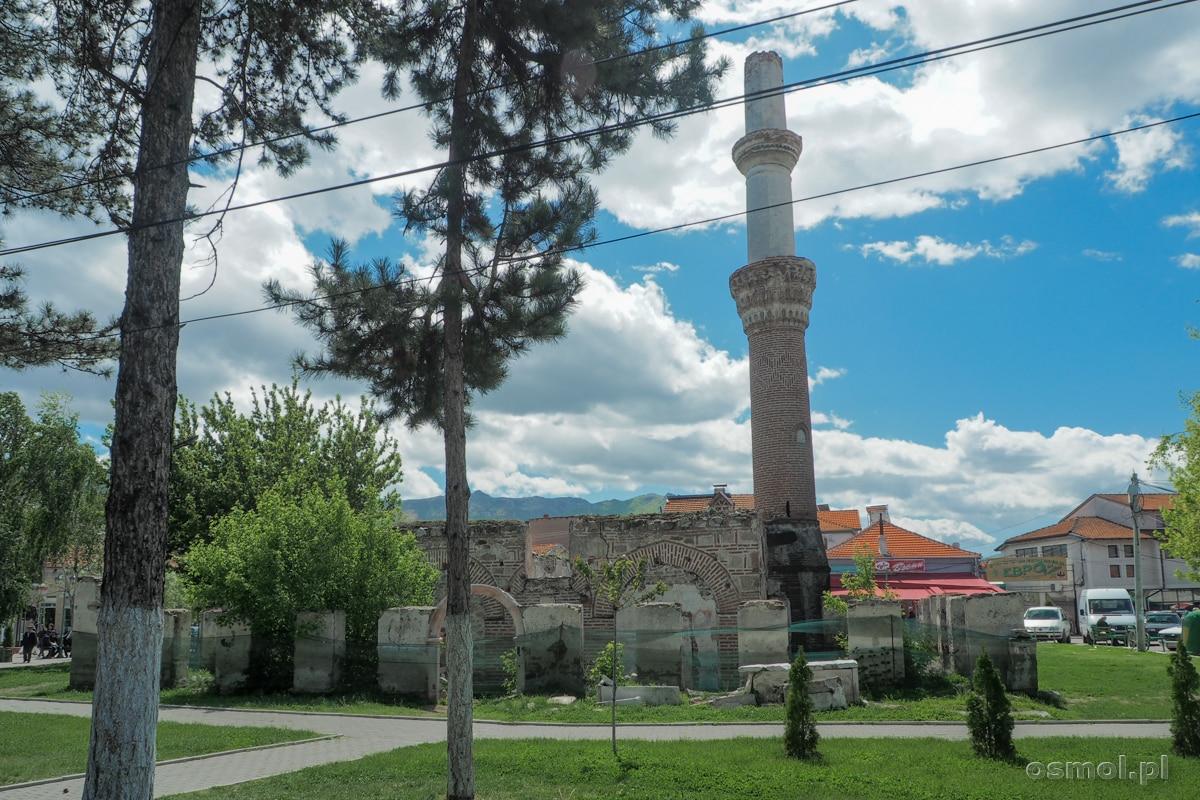 Ruiny meczetu z 1475 roku w Prilepie