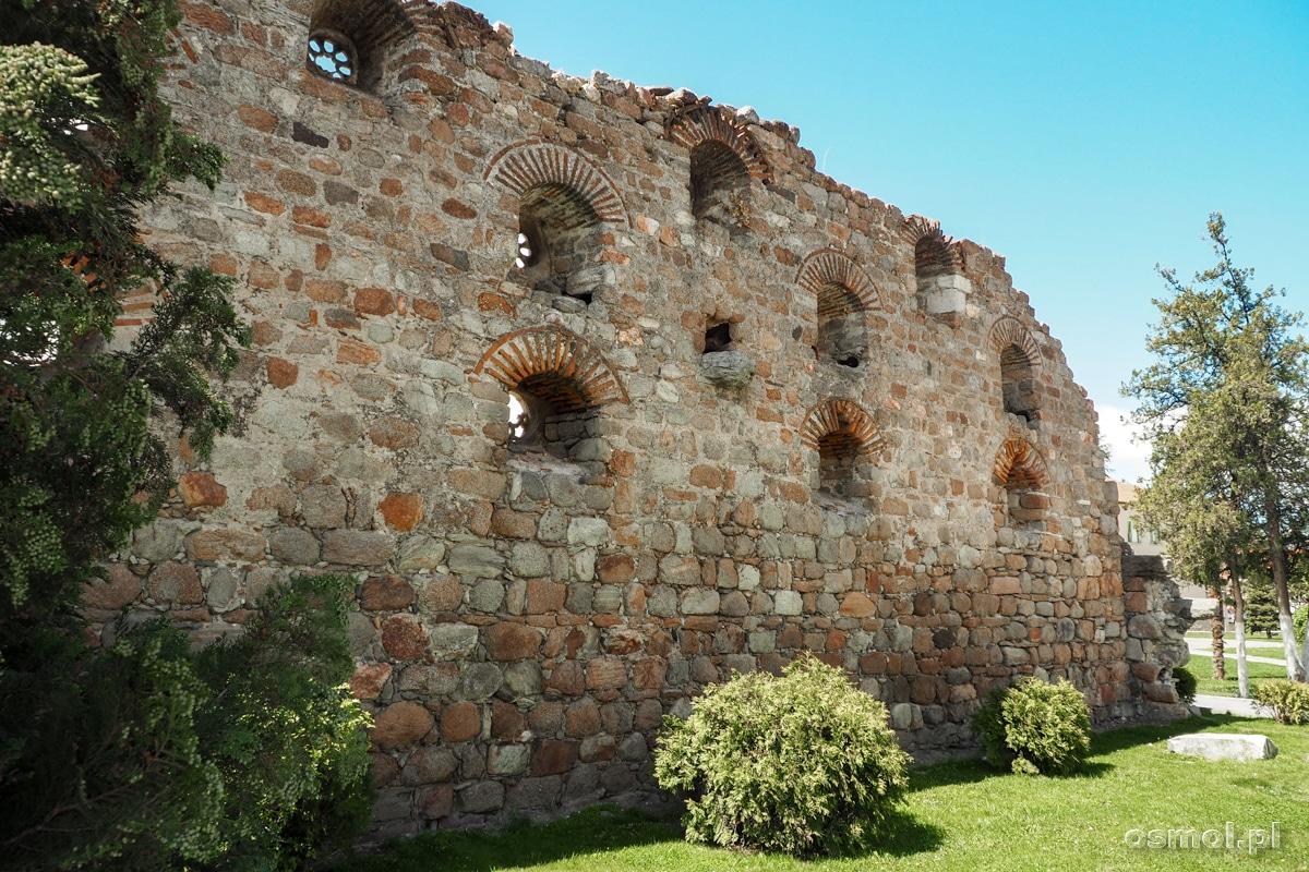 Ściana pozostała z tureckiej łaźni