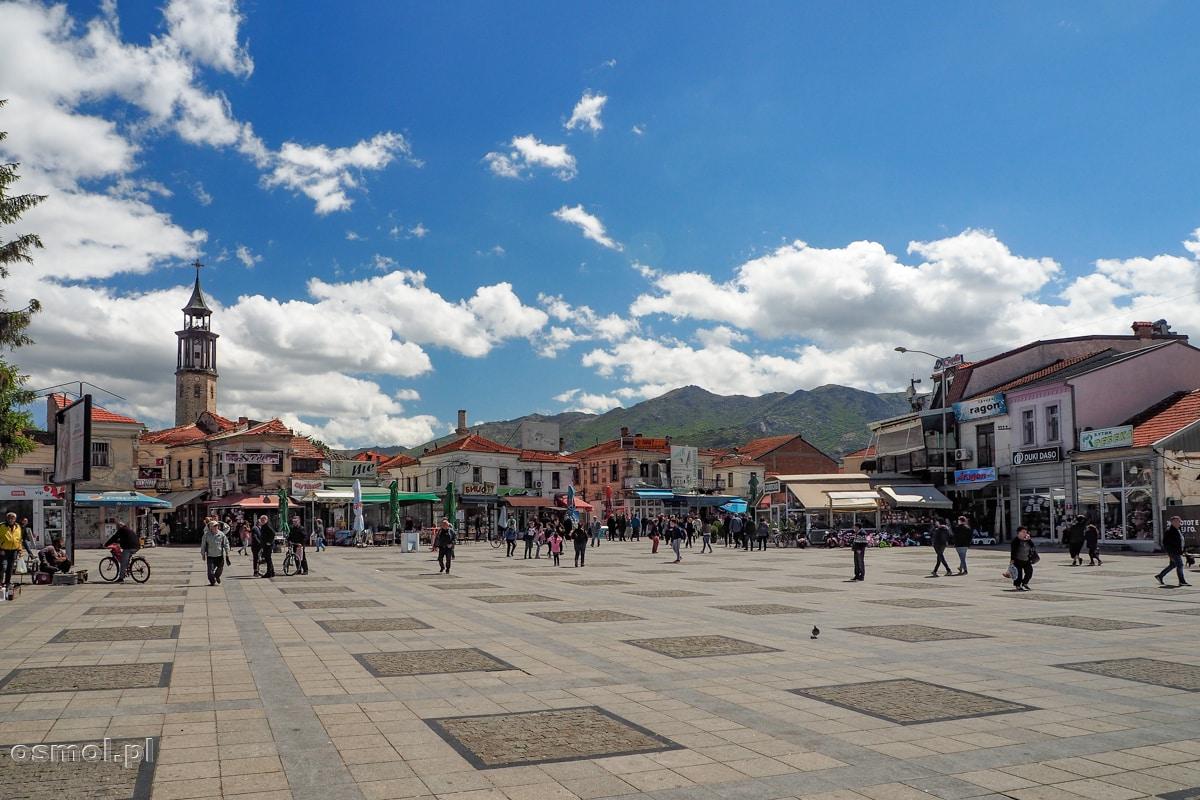 Główny plac miejski w Prilepie - Macedonia