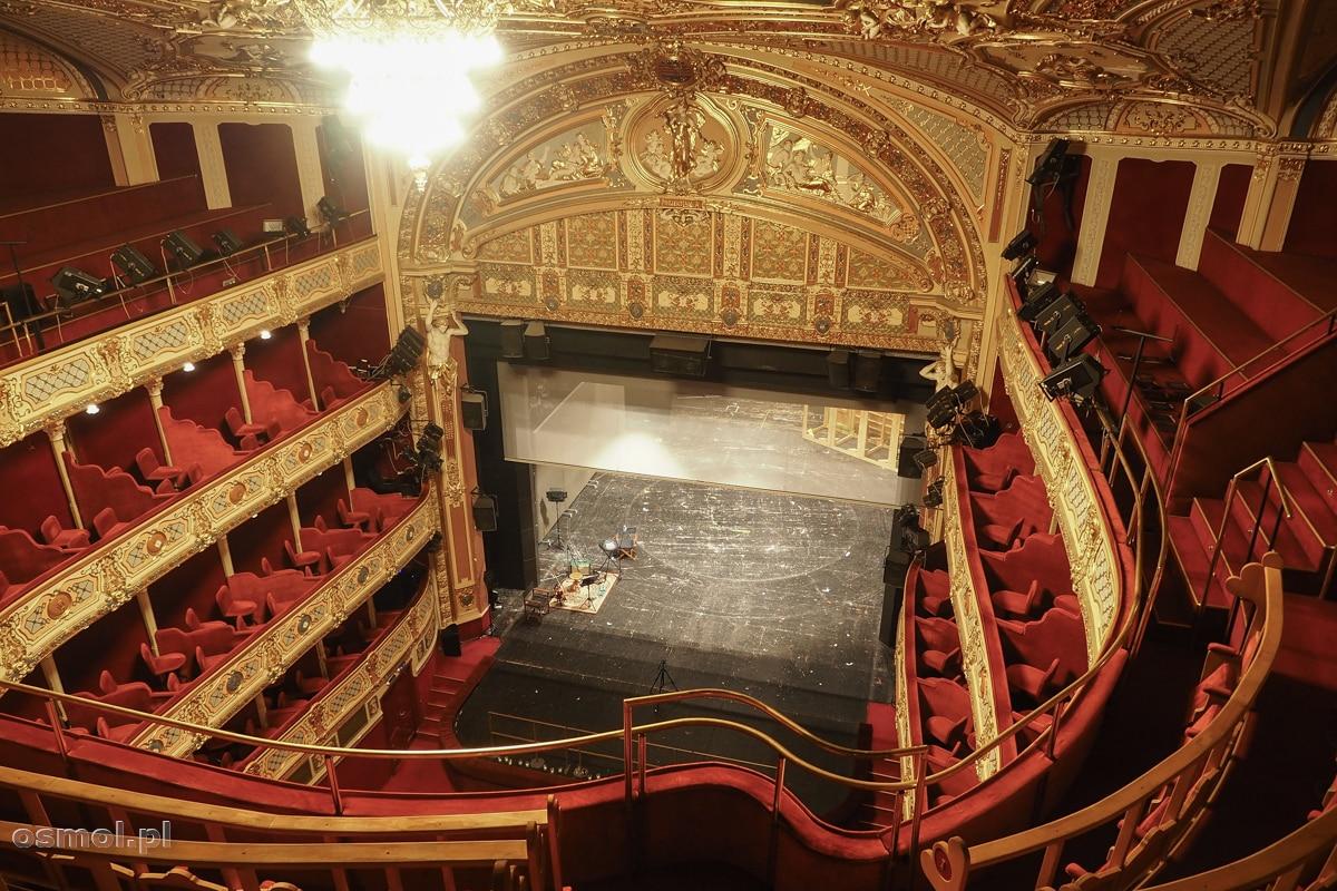Wnętrze teatru w Koszycach