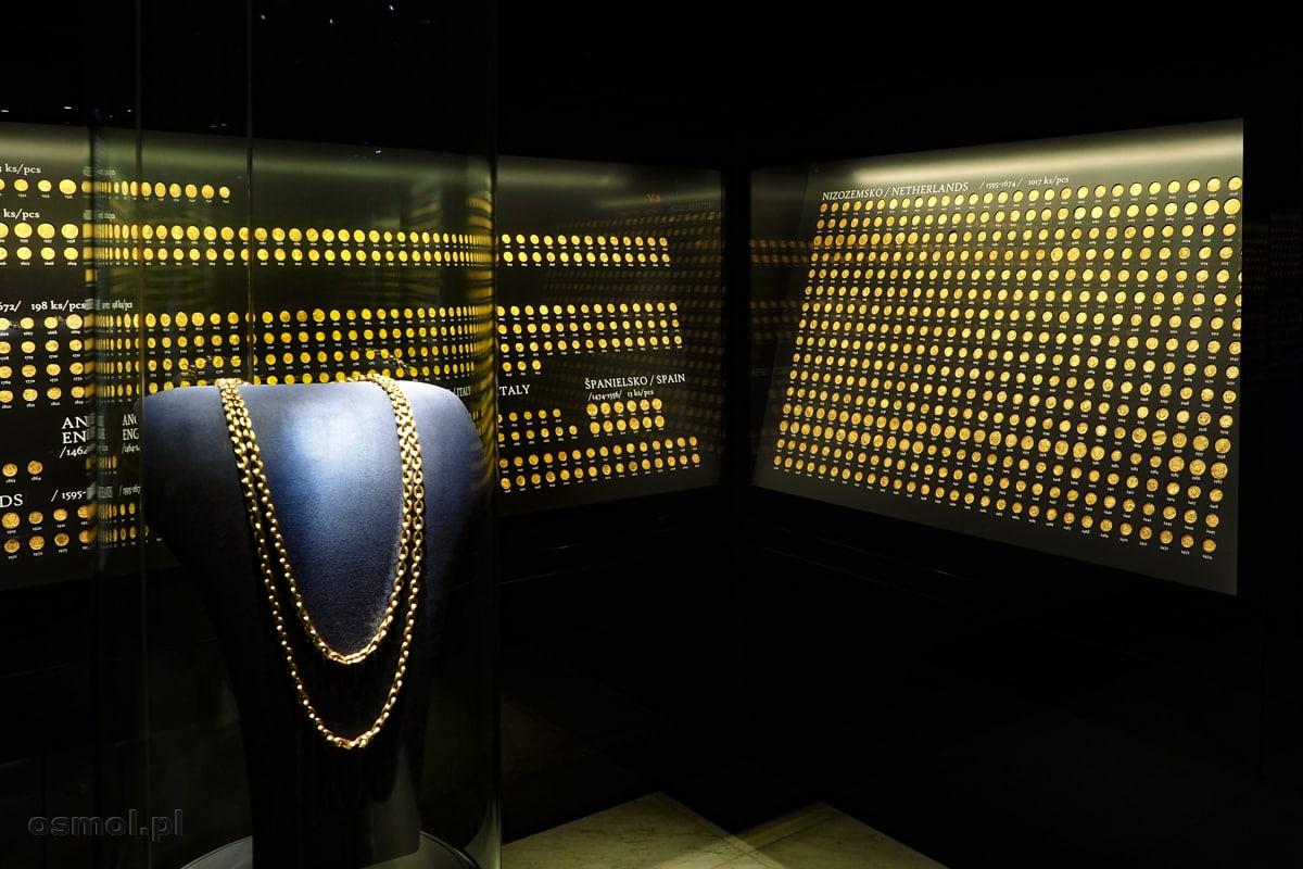 Złoty skarb z Koszyc - 2920 złotych monet, złoty łańcuch i trzy medale