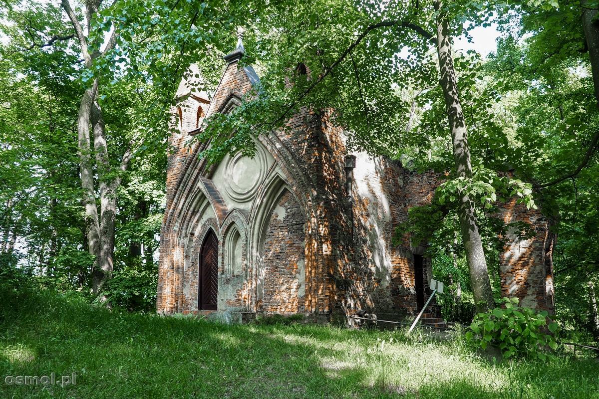 Domek Gotycki w Parku Arkadia
