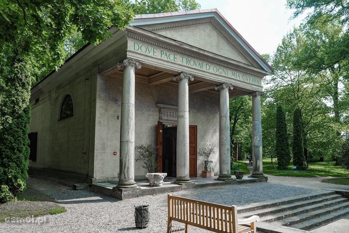 Świątynia Diany w Arkadii - parku koło Nieborowa
