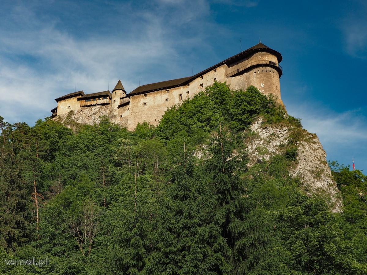 Zamek Orawski na Słowacji- twierdza na wysokiej skale