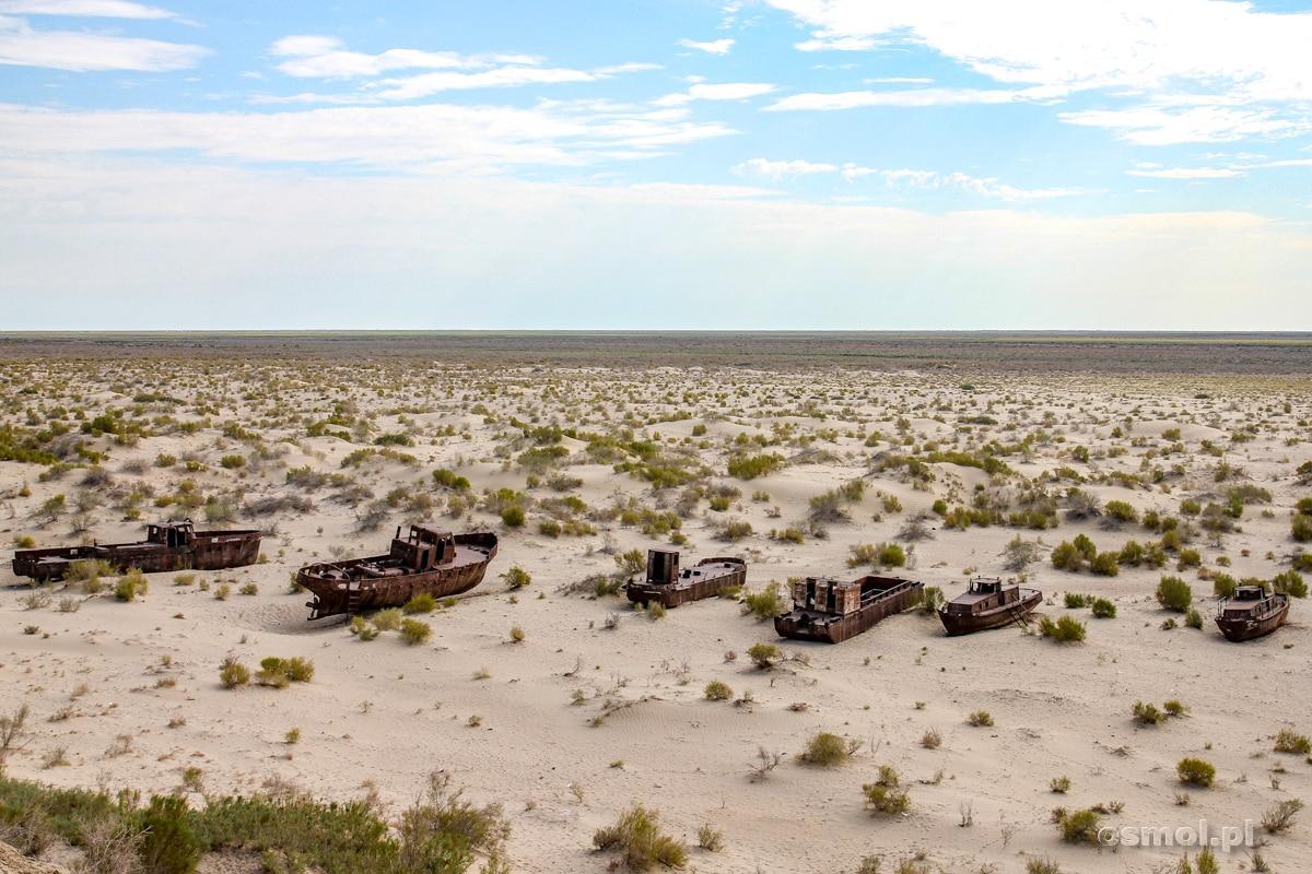 Wraki na pustyni czyli wyschnięte Morze Aralskie