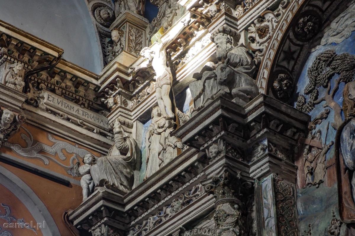 Zdobienia w kaplicy Boimów we Lwowie.