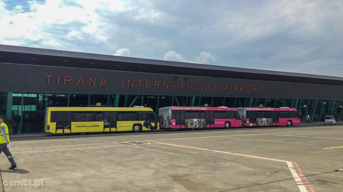 Lotnisko w Tiranie. Albania