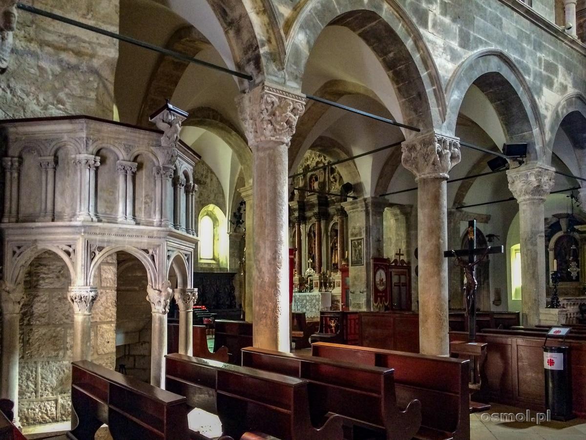 Wnętrze kościoła św. Marka