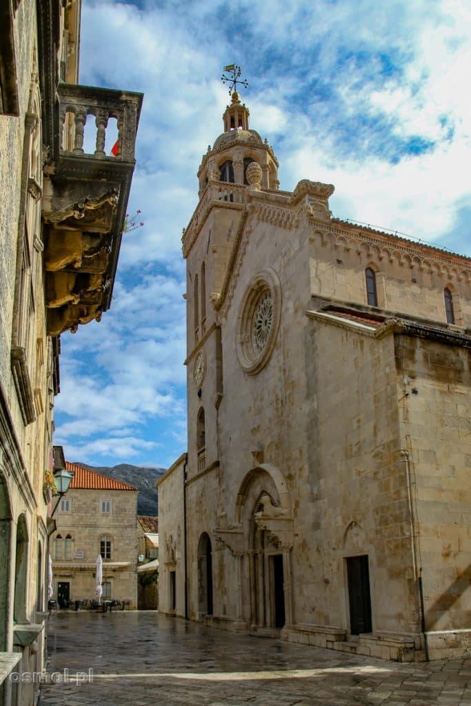 Katedra św. Marka to jedna z głównych atrakcji Korculi