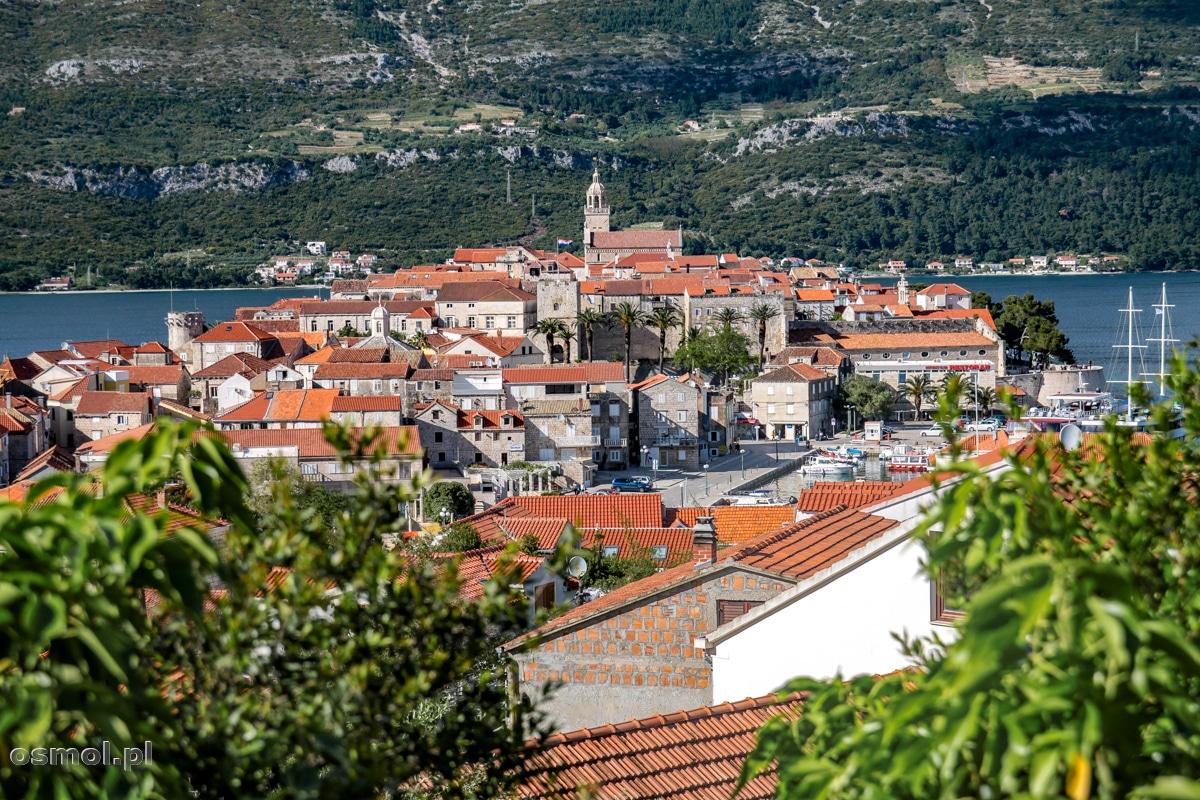 Korcula - jedno z najpopularniejszych wśród turystów chorwackich miast.