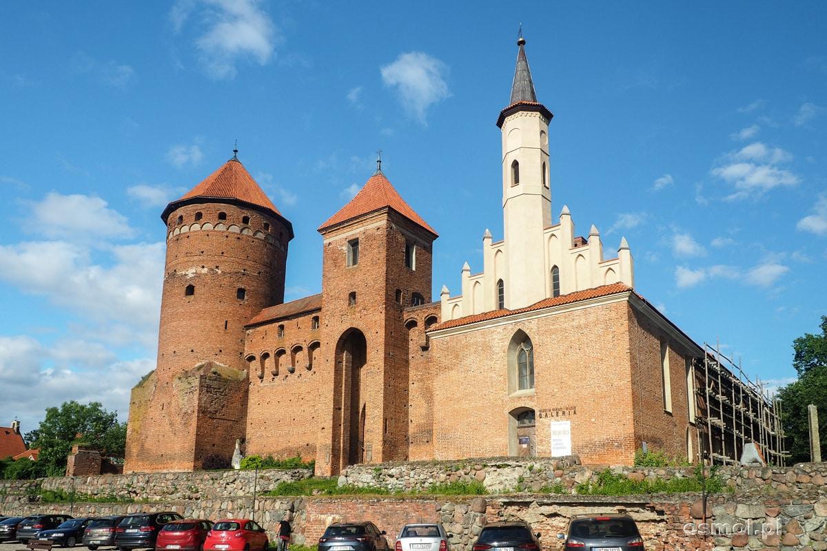 Zamek w Reszlu czyli dawna siedziba Biskupów Warmińskich