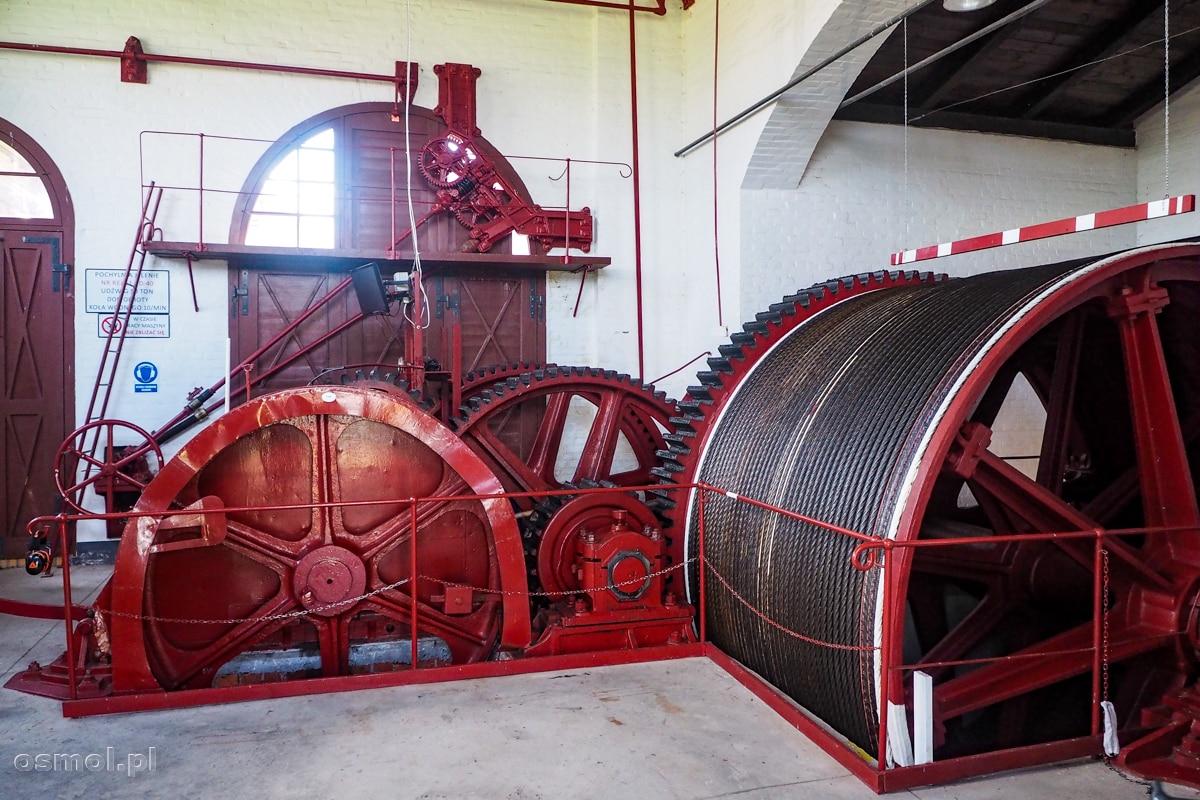Wnętrze maszynowni pochylni Kanału Elbląskiego