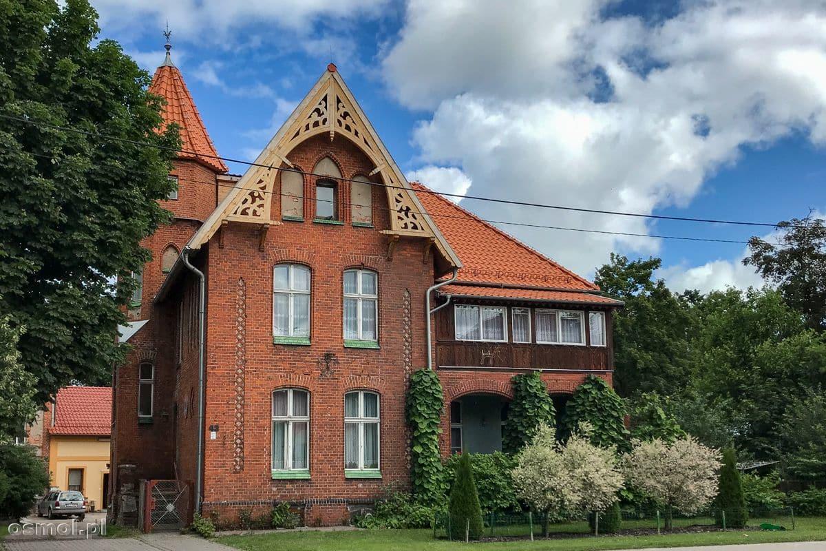 Ozdobny dom w Ornecie