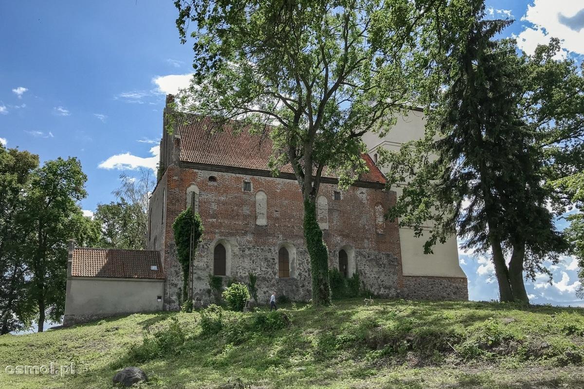 Zamek krzyżacki w Bazławkach