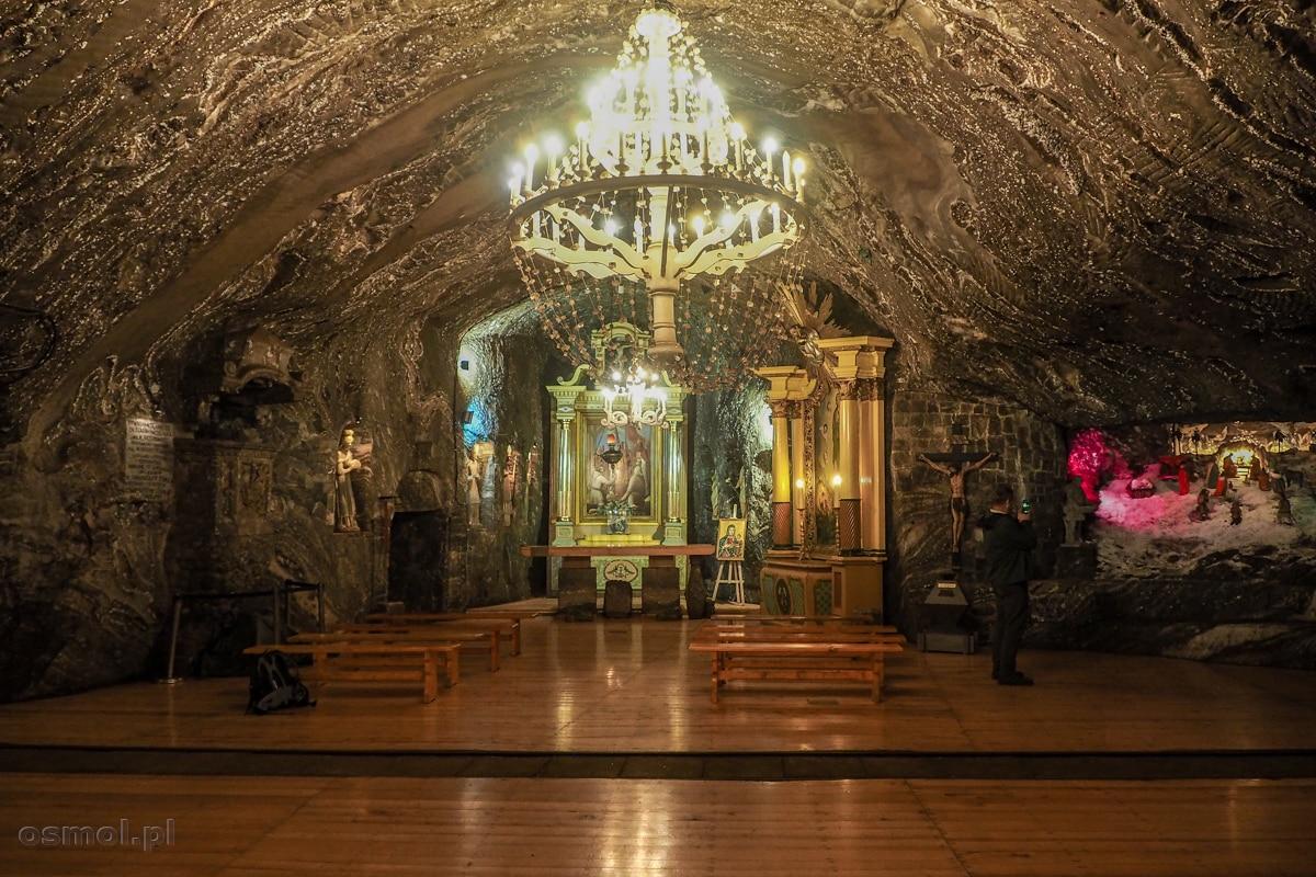 Kaplica świętej Kingi w kopalni soli w Bochni