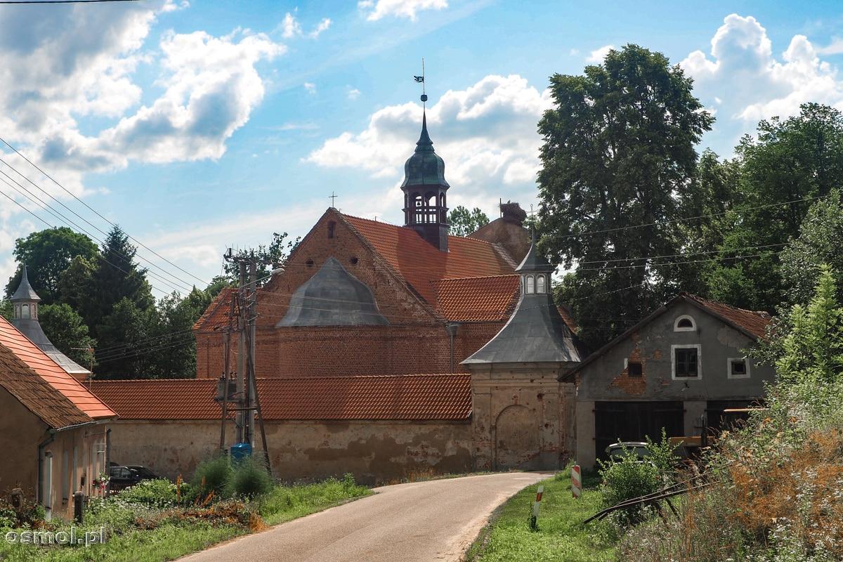 Sanktuarium Podwyższenia Krzyża Świętego w Chwalęcinie