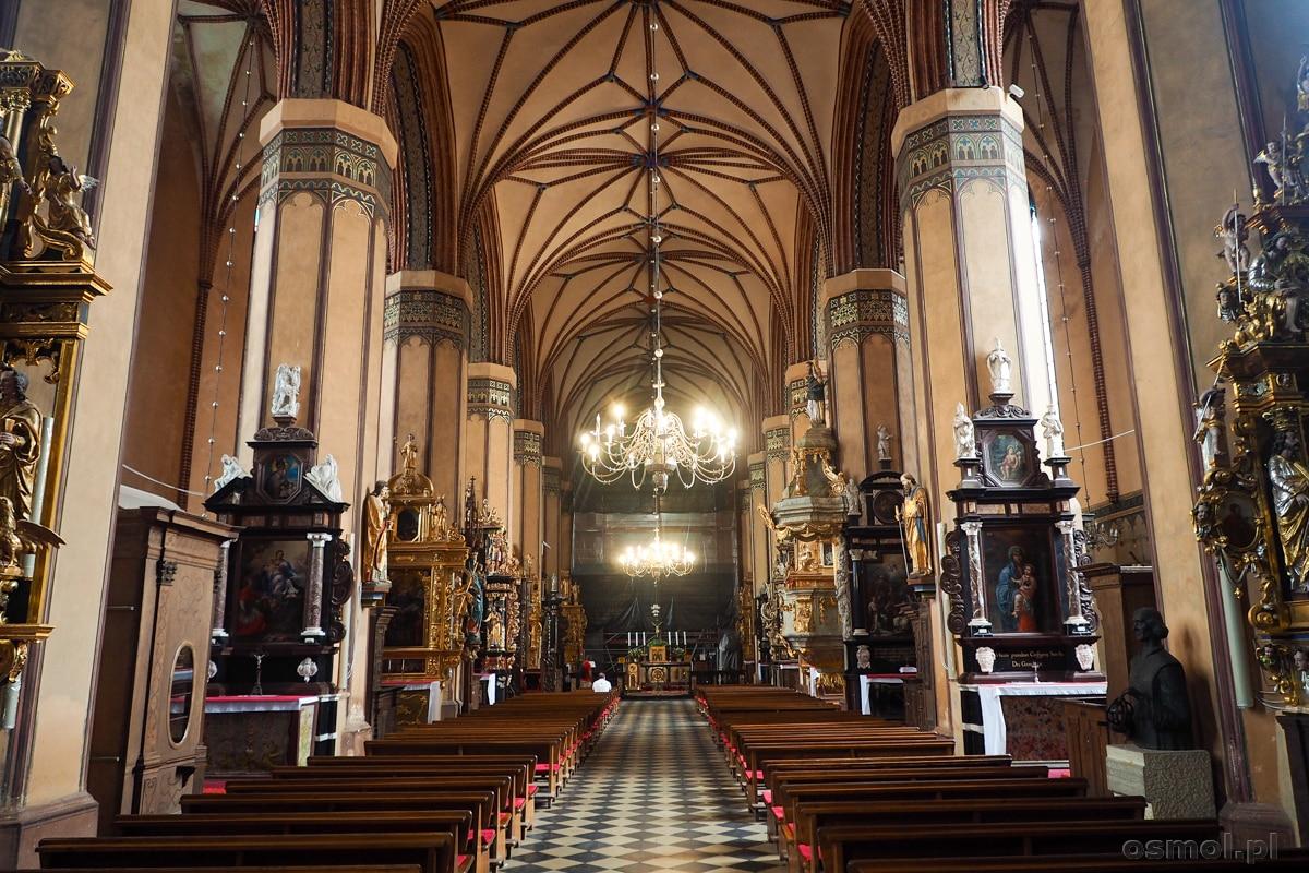 Wnętrze archikatedry we Fromborku