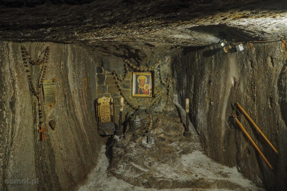 Stara kaplica górnicza w kopalni soli