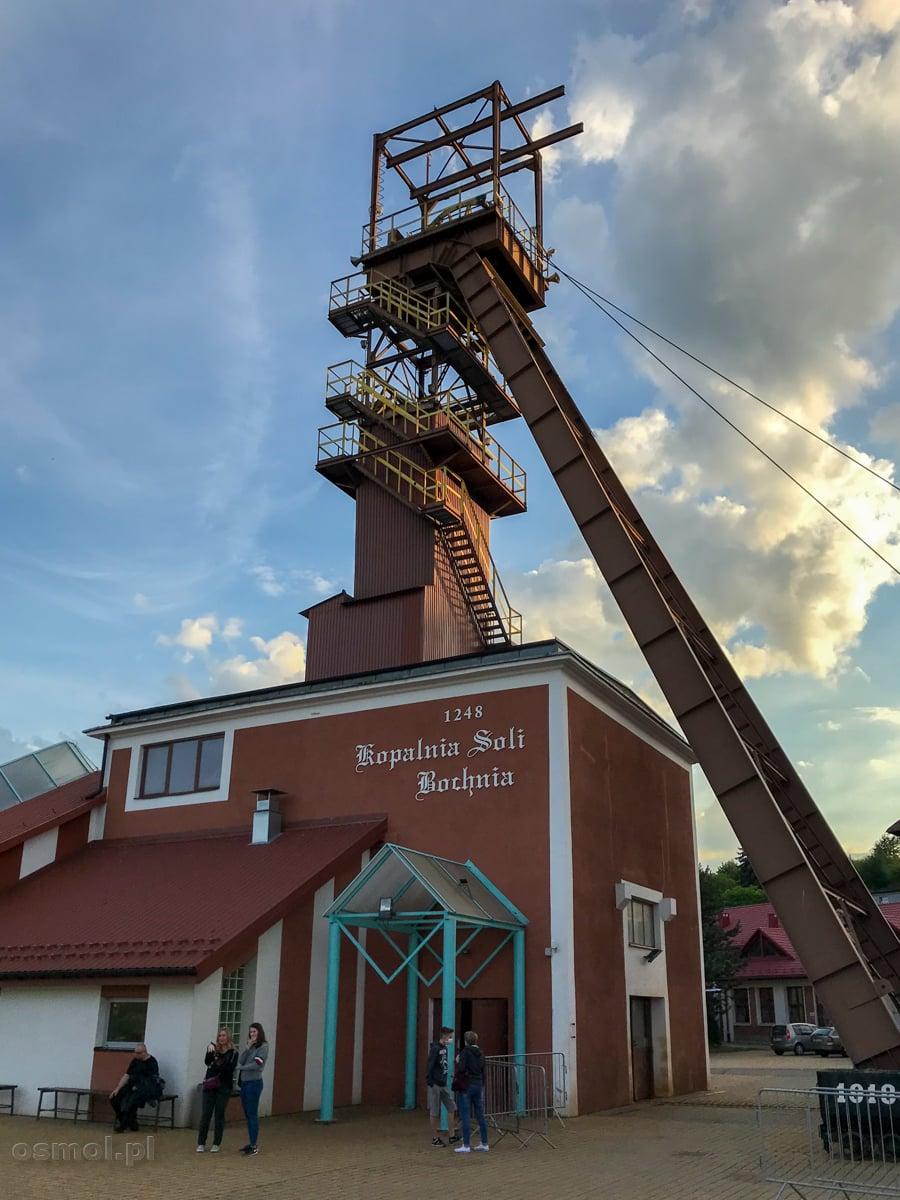 Szyb Campi w kopalni soli w Bochni