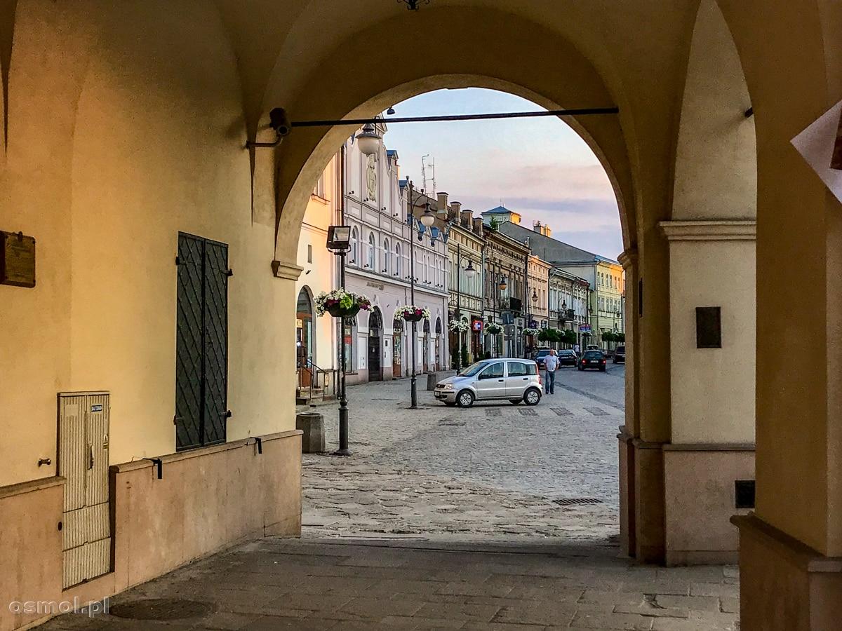 Arkady kamienicy Orsettich w Jarosławiu