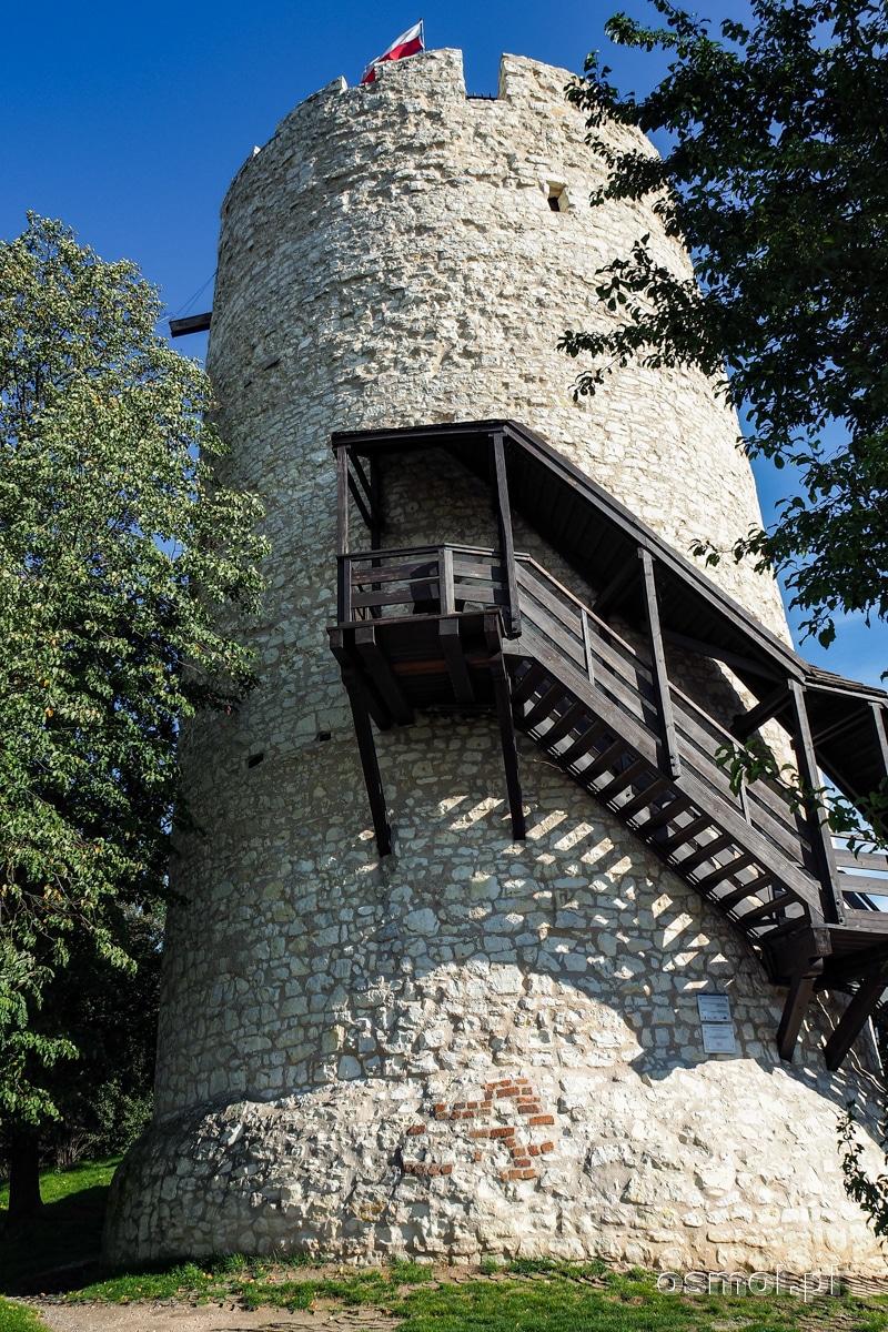 Stołp czyli najstarszy budynek w Kazimierzu Dolnym