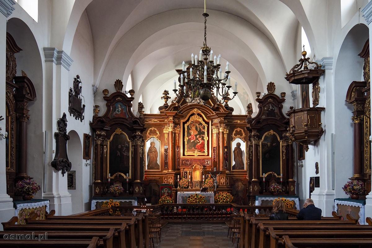 Wnętrze kościoła Ojców Franciszkanów