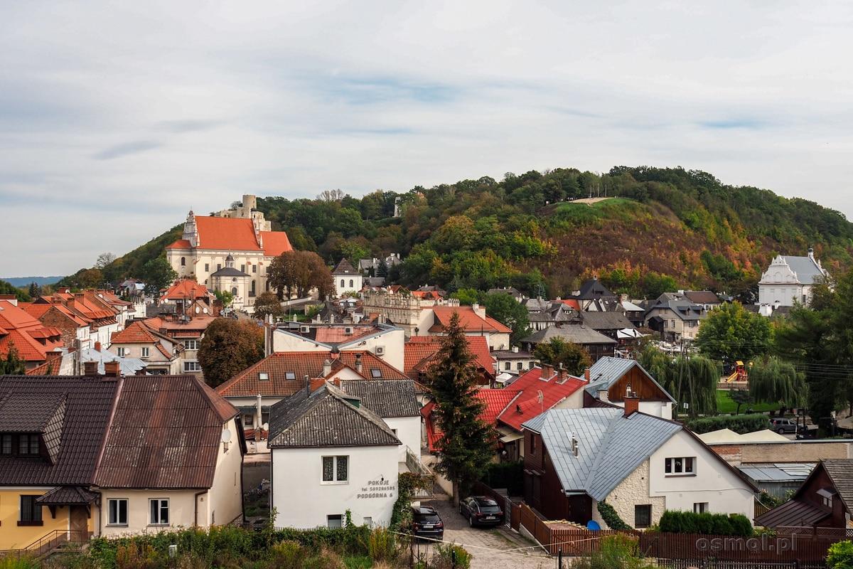 Widok na Kazimierz z Klasztoru Ojców Franciszkanów