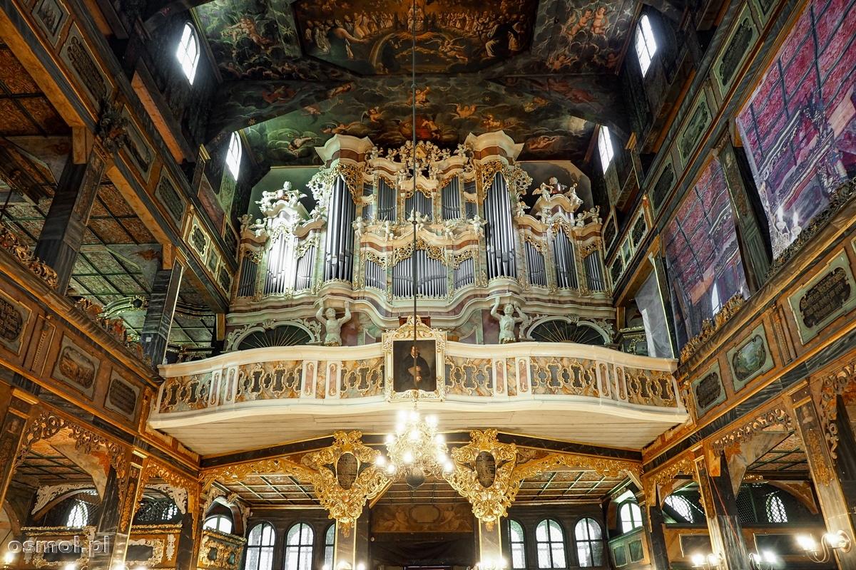 Prospekt organowy w Kościele Pokoju w Świdnicy