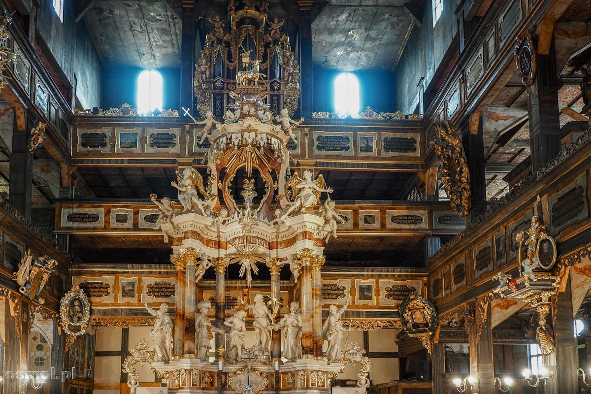 Ołtarz główny Kościoła Pokoju w Świdnicy