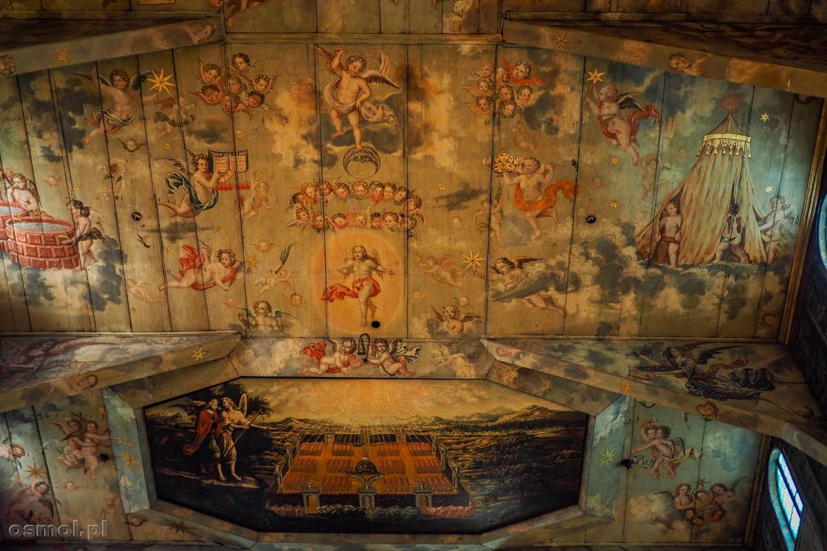 Sufit Kościoła Pokoju w Świdnicy