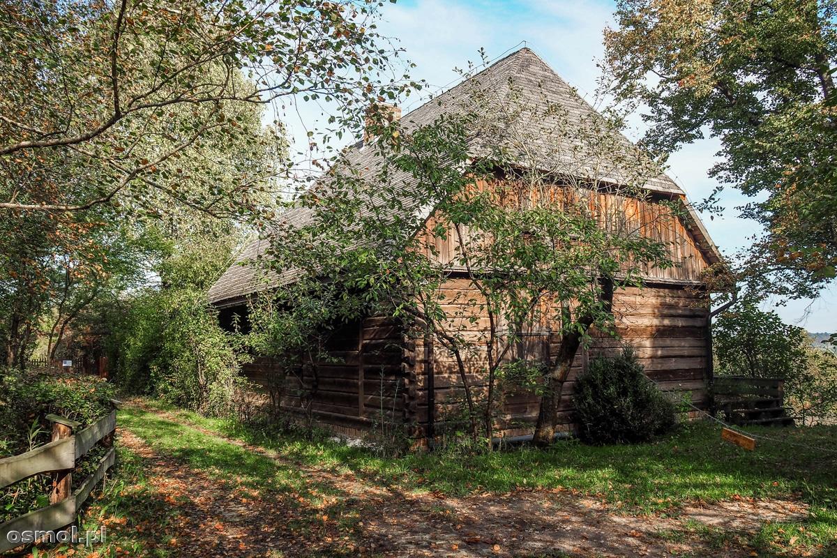 Stara chata w Mięćmierzu