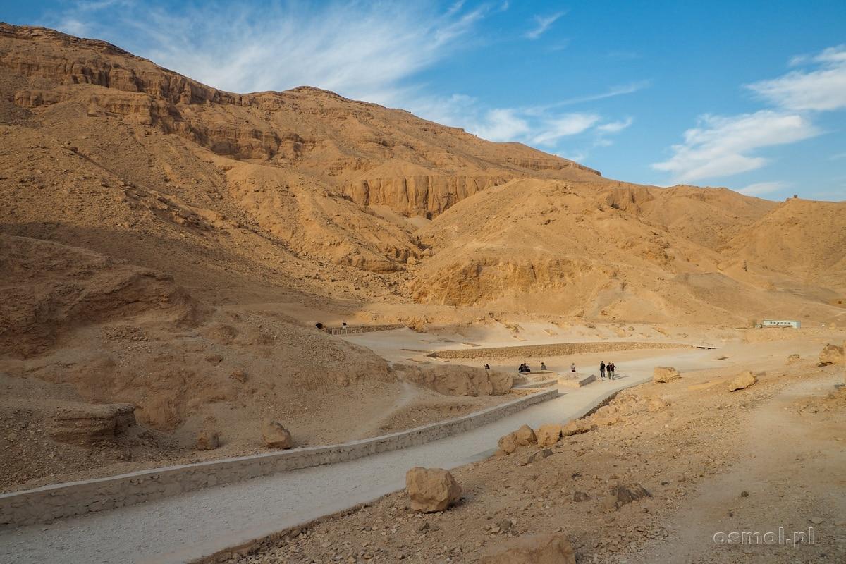 Dolina Królowych w Luxorze