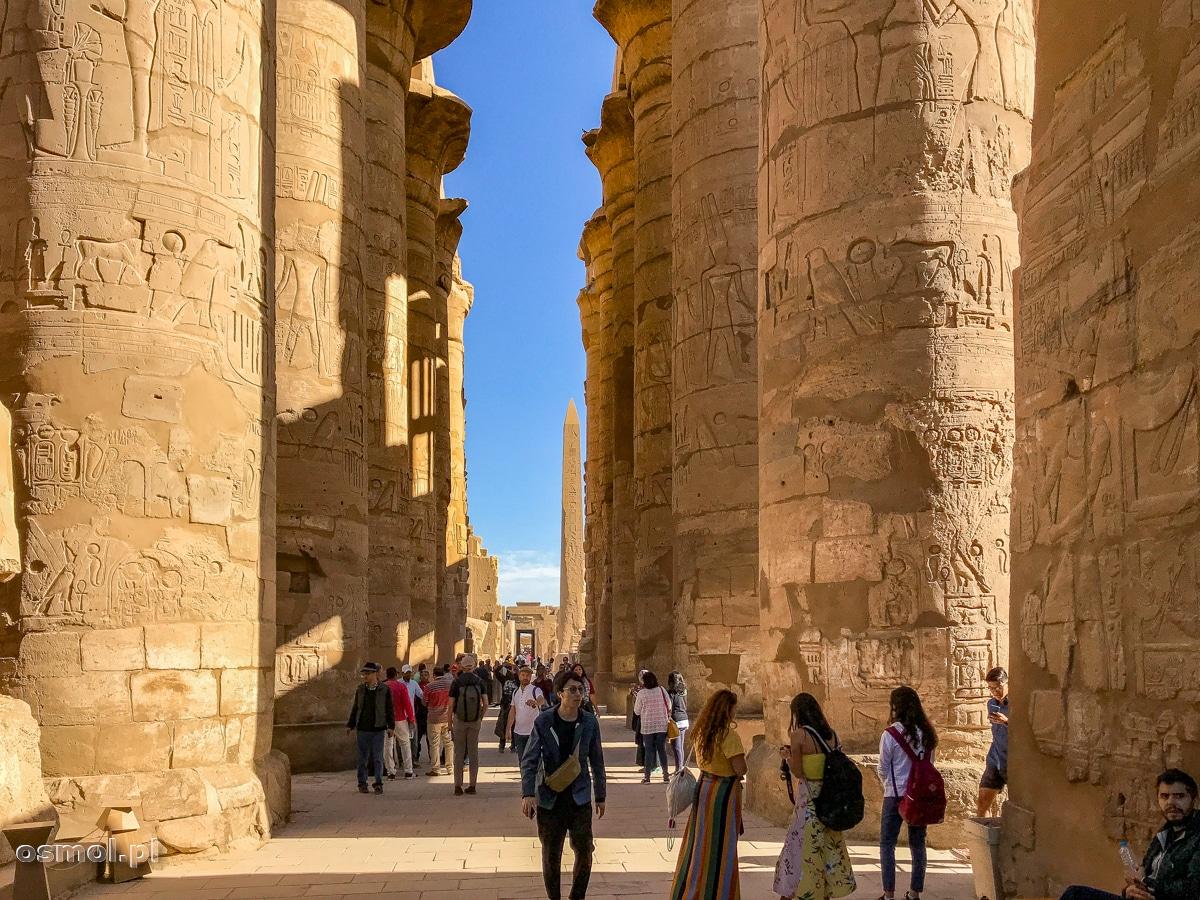 Sala hypostylowa w Karnaku