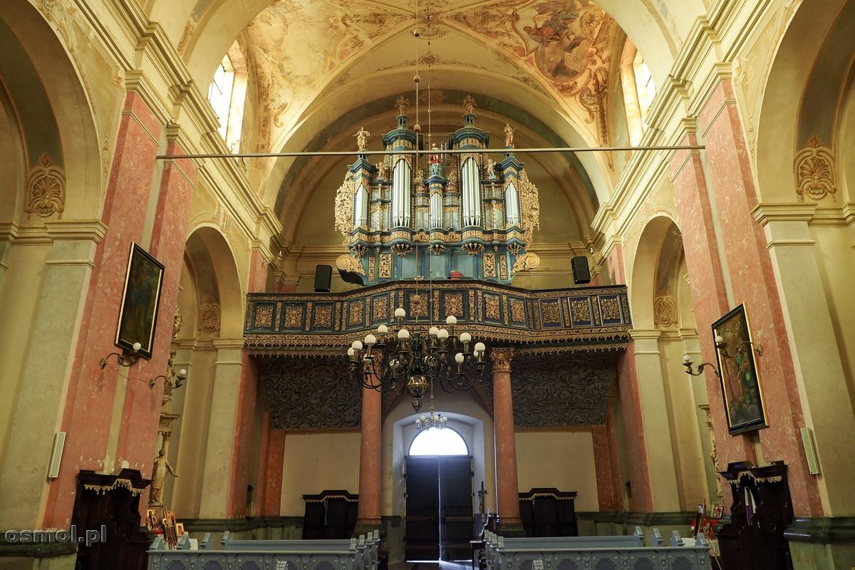 Prospekt organowy kościoła w Krośnie na Warmii