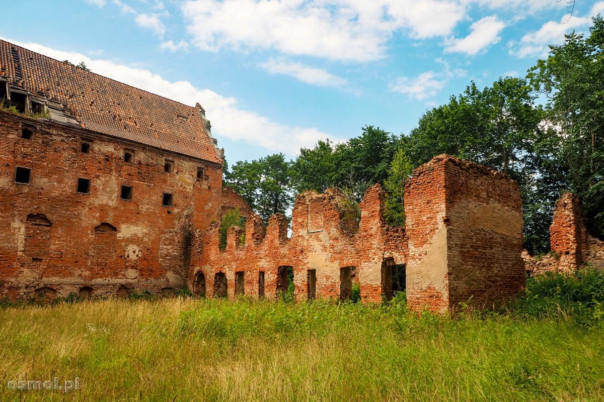 Ruiny zamku Kapituły Warmińskiej w Pieniężnie