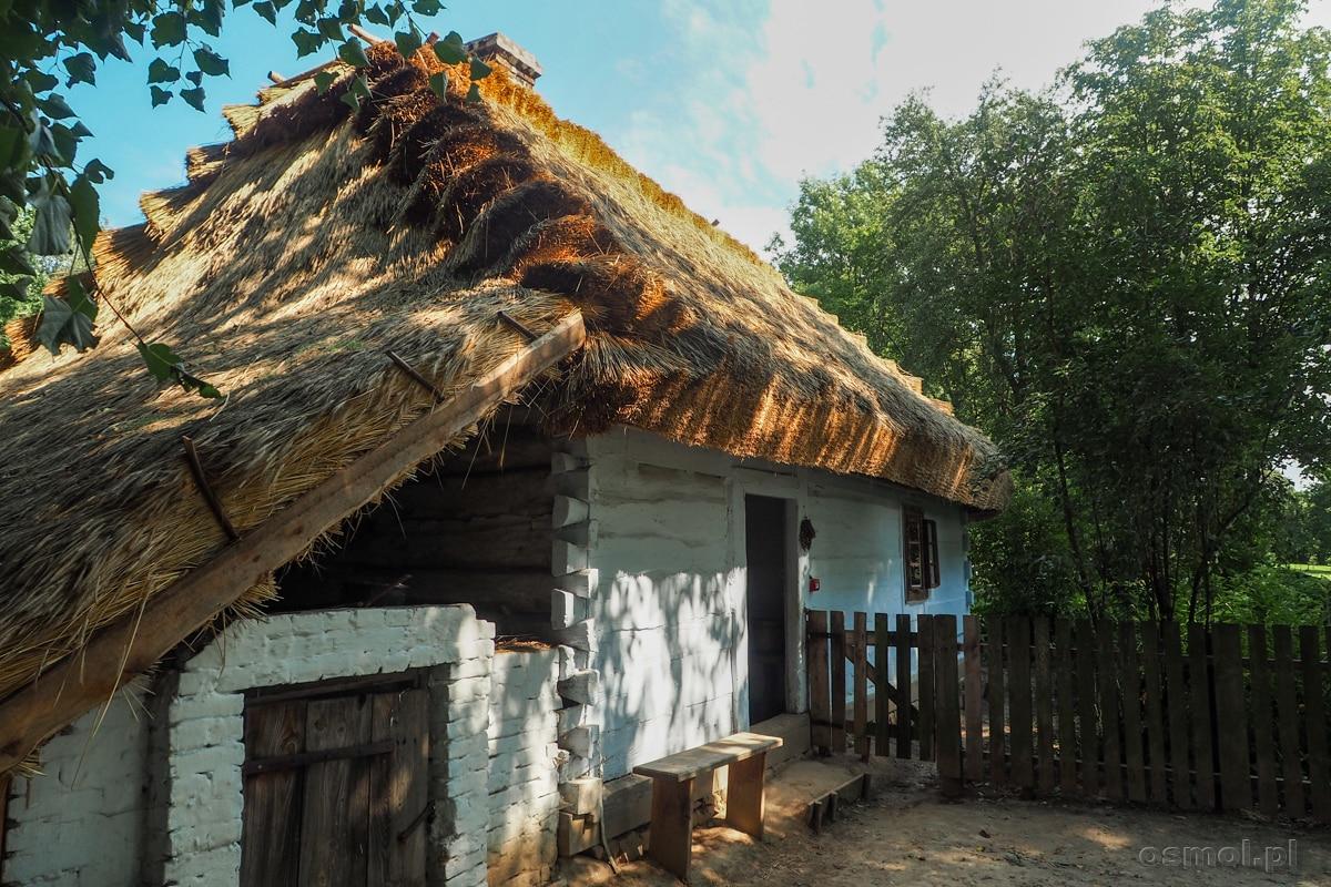 Wiejska chata w Muzeum Wsi Lubelskiej