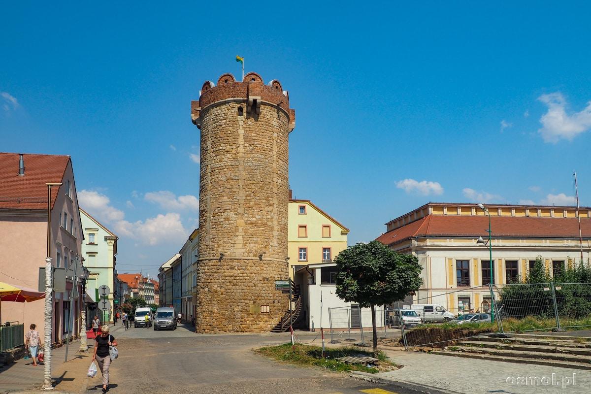 Baszta Kowalska. Jedyna baszta dawnych murów obronnych Złotoryi, która przetrwała do naszych czasów