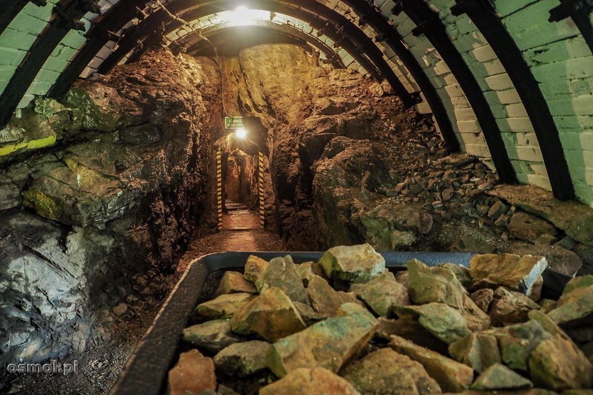 Wejście do kopalni złota Aurelia