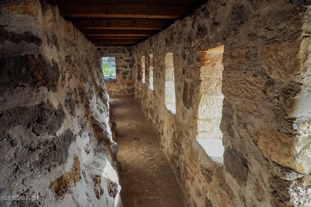 Górne, widokowe piętro w Muzeum Starego Mostu