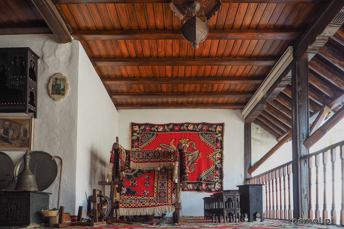 Wnętrze tradycyjnego osmańskiego domu w Mostarze