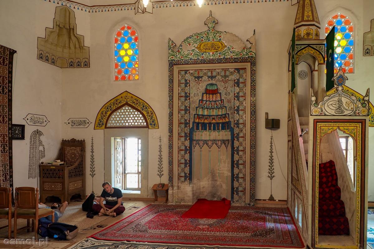 Wnętrze meczetu Koski Mehmed Pasha