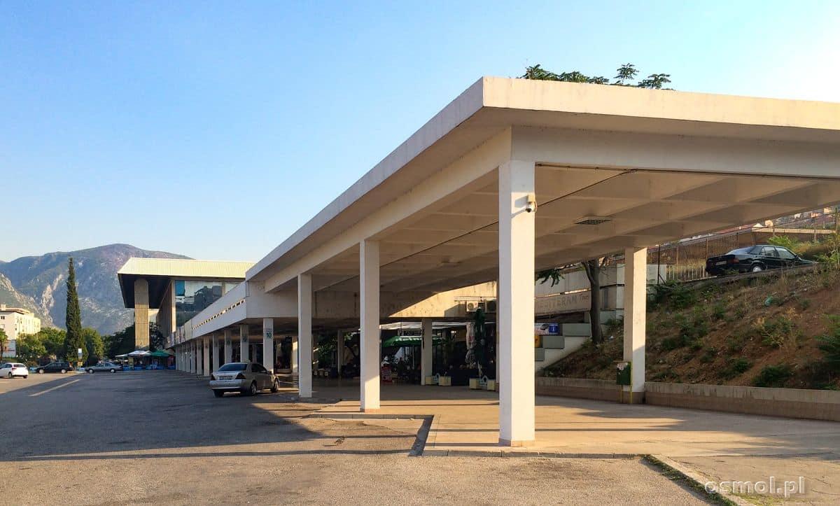 Dworzec autobusowy i kolejowy w Mostarze