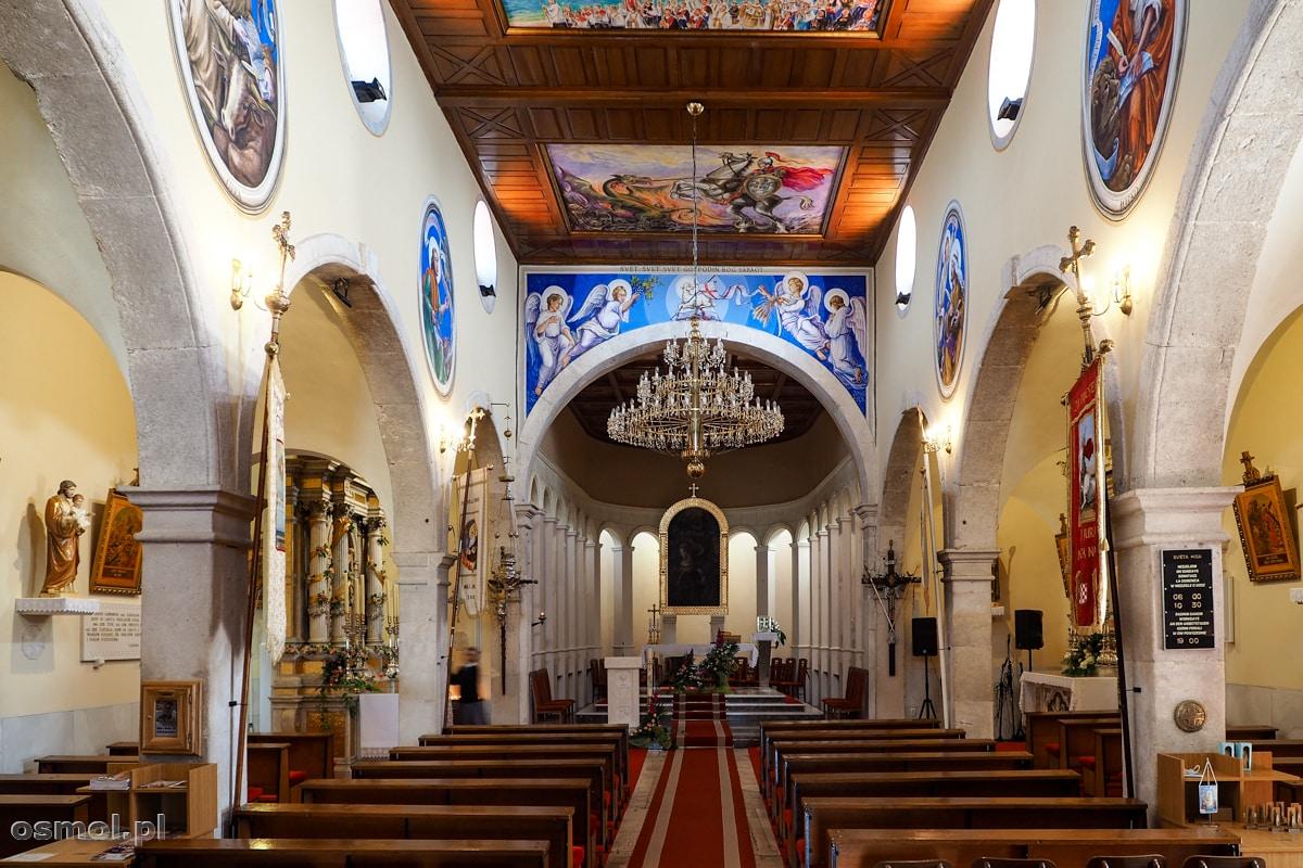 Wnętrze kościoła św. Jerzego